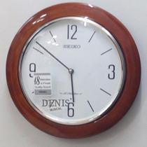 Reloj De Pared Seiko - Madera- 18 Melodias - Qxm288b -