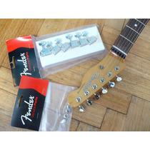 Clavijas Originales Fender Vintage 6 En Linea (strato-tele)