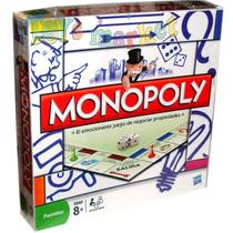 Juego De Mesa Monopoly Familiar Monopolio Finanzas De Hasbro