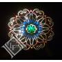 Mandala, Cuadro, Espejo, Velador Con Luz Tenue Decoracion