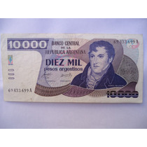 Billete 10.000 Pesos Argentinos(impecable)