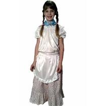 Disfraz De Paisana,gaucho,dama Antigua,coya