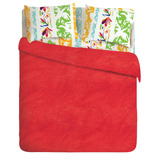 Manta Polar Casablanca Lisa Full 220x220 Red