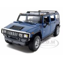 Hummer H2 Suv 2003 Maisto 1/27 Edición Especial