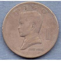 Filipinas 1 Piso 1972 * Jose Rizal * Enorme *
