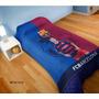 Frazada Manta Polar Lionel Messi Barcelona 1 Y 1/2 Plaza