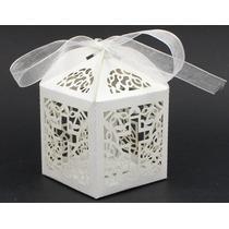 Cajas Para Velas Led Souvenir/bautismo/ Comunion/ Boda