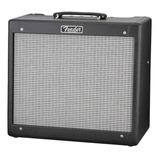 Amplificador Fender Hot Rod Blues Junior Iii 15w Valvular Negro Y Plata 220v