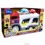 Disney Mickey Mouse Camión Transportador Autos Mosquito