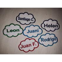Nombres Bordados, Para Uniformes