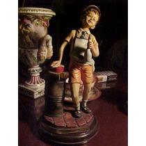 Figura Capodimonte Cirrincione Autentica *restaura6*