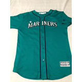 Casaca Mlb Majestic Usa,seattle Mariners,#34 T Xl 18/20 Años