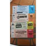 Entrada-ticket Safety Eventos Sociales-recitales-otro