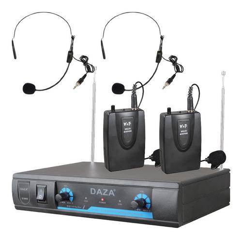 Set De Micrófonos Daza Dzsm202