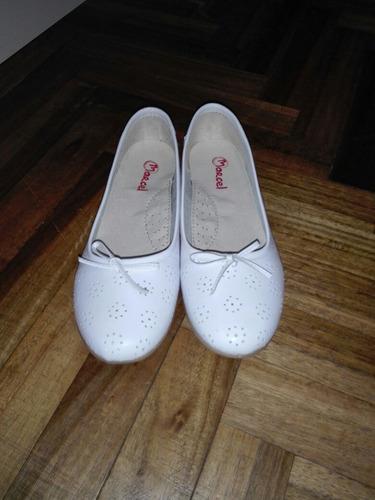 156779932 Zapatos Comunion Marcel Cuero Sin Uso