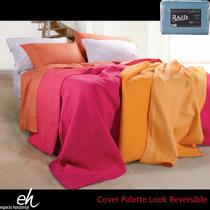 Cover Cubrecama Palette Look Reversible King 2 X 2