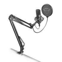 Microfono Trust Profesional Estudio Emita Plus Gxt 252 Brazo