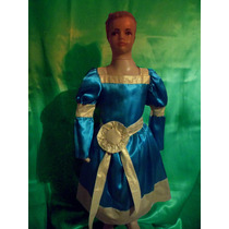 Disfraz De Merida Valiente- Rapunzel-blancanieves