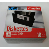 Diskette Imation 3,5 En Caja X 10 Unidades  Made In U.s.a