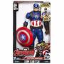 Capitan America Titan Hero Español Avengers Original Hasbro