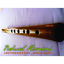 Quena Profesional De Bambú En Sol