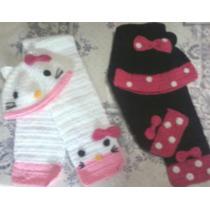 Conjunto De Gorro Y Bufanda Tejida Al Crochet