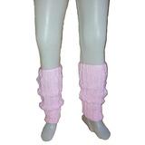 bf9877206 Polainas Rosas Lana Tejidas 2 Agujas Danza Ballet Nena