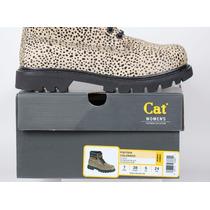 Botas Cat Colorado Lady Animalprint Gato! Borcegos Dama Cat