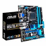 Motherboard Asus M5a78l-m Plus Usb 3 Am3+ - Xellers