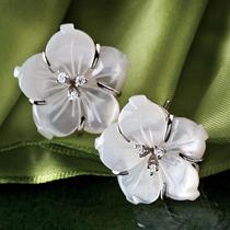 Collar Y Aros De Perla Y Plata De Ley. Stauer