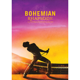 Dvd - Bohemian Rhapsody - Queen + Recreación Live Aid