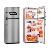 Heladera Con Freezer Kohinoor Kda4394/6 Acero 416 Litros