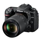 Camara Reflex Digital Nikon D7500 Kit 18-140 Local Gtia !!