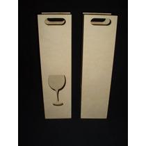 Porta Botella Fibrofacil X (5 Unidades) Maderarte