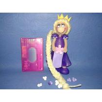 Rapunzel. Adorno Centro De Torta