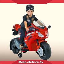 Moto A Bateria P/ Niños 6v Honda Biemme, Sweet Babies