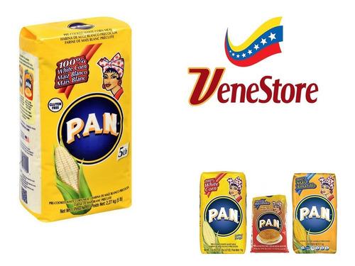 Harina Pan De 5 Libras En Venesore! 2,27 Kg X 4 Unidades!