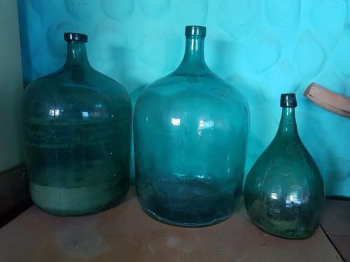 Botellones Antiguos Damajuana