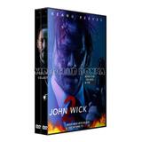 John Wick 1 Y 2 Saga Completa 2 Peliculas Dvd Pack Latino