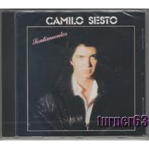 Cd **** Camilo Sesto *** Sentimientos *** Español Nuevo Sell