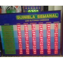 Cartel Cabezas Semanal Electronico 17 Quinielas-congreso