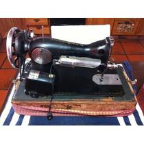 Maquina De Coser Singer Antigua Portatil.!! Pedal