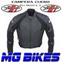 Campera Motos Joe Rocket Cuero Proteciones Pista Mg Bikes