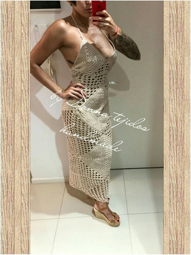 Vestido Tejido Crochet En Venta En Villa De Mayo Malvinas