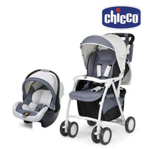 Travel System Chicco Duo Simplicity Klabber/brown