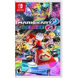 Mario Kart 8 Deluxe Juego Físico Nintendo Switch Sellado