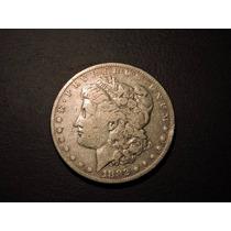 Estados Unidos Morgan Dolar 1882 Plata 900 26,7 Gramos