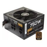 Fuente Pc Atx Sentey Mb750-hm Metal Blade Power 110v/220v Negra
