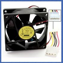 Cooler Fan Para Gabinete Y Fuente De Pc 80x80x25mm Molex