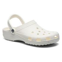 Sandalias Zuecos Hombre Crocs Classic Originales Blancas